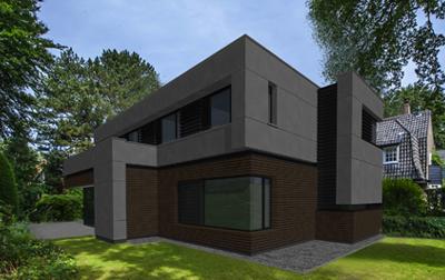 Eetkamer Keuken Open : Moderne villa yin yang bussum architect george van luit
